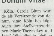 Kölner Wochenspiegel: Donum Vitae