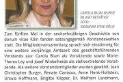 Soretha: Carola Blum als Vorsitzende wiedergewählt